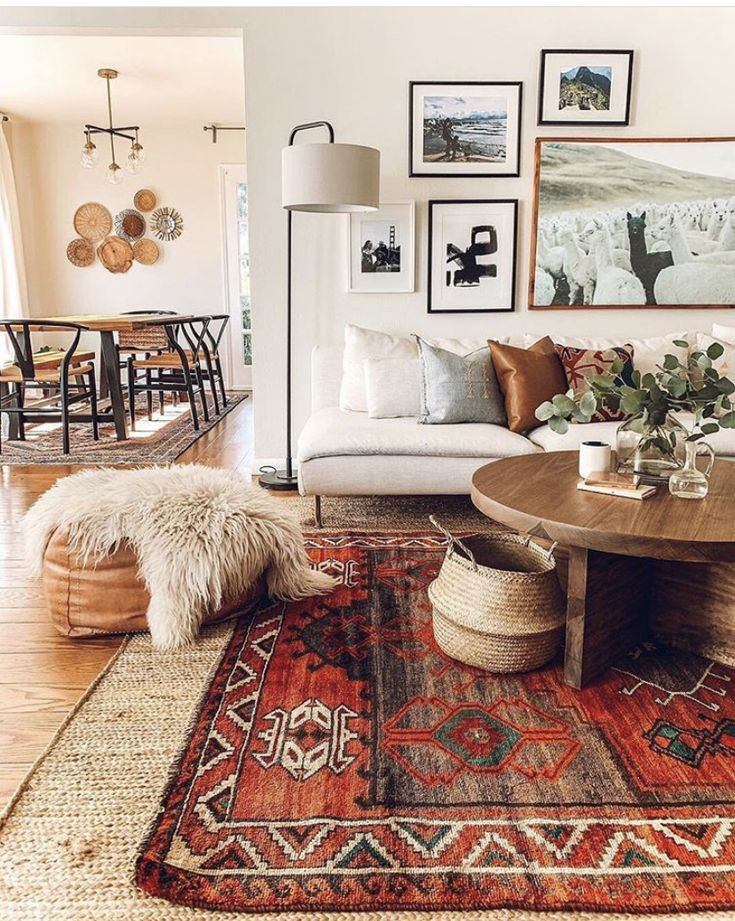 Pin by Kayla Cohen on Apartment Boho living room, Home
