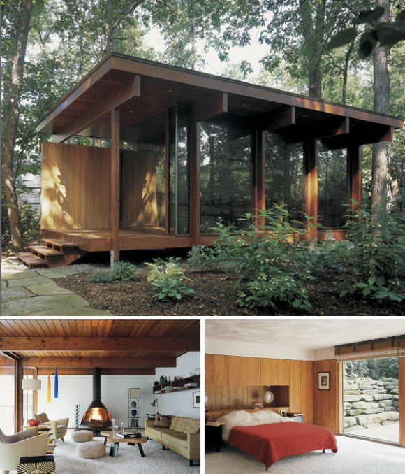 More outstanding minimalist vacation homes I could live in year round. Lots more pics in this link.