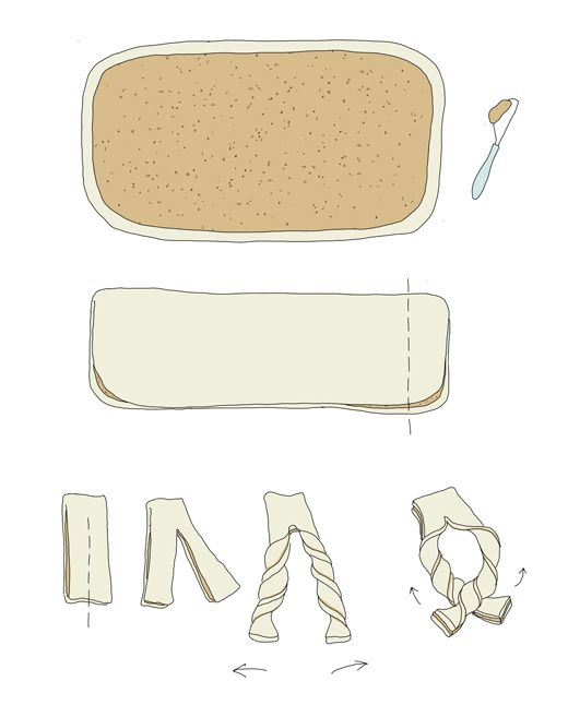 Food illustration for recipes ©Johanna Kindvall