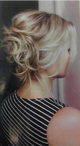 The Messy Bun Hairstyle for Long Blond Hair
