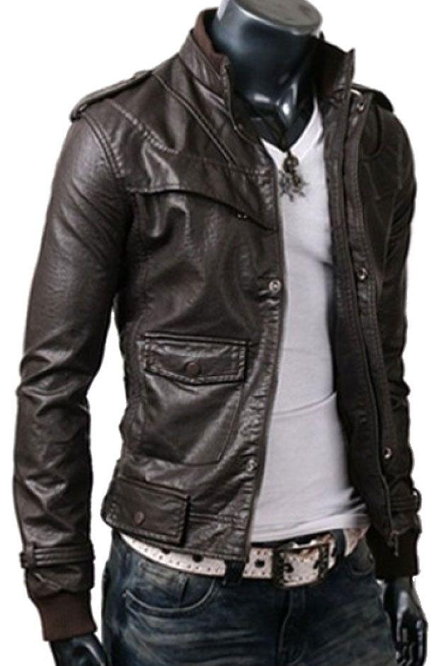 18 best Men's Leather Jackets images on Pinterest | Men's jackets ...
