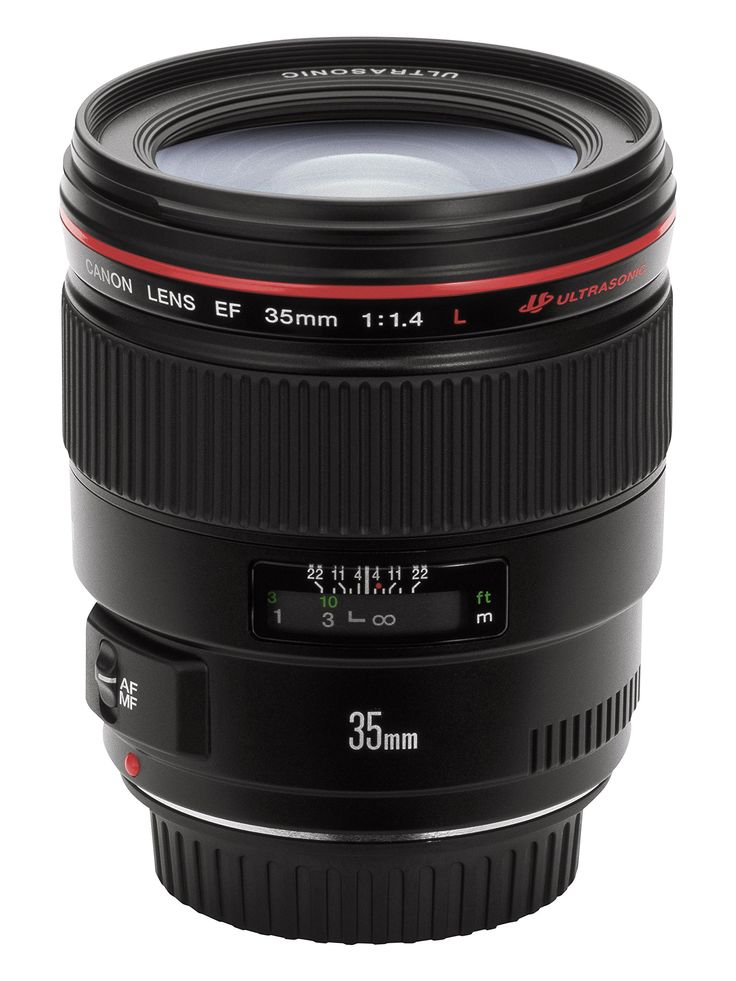 Canon EF Objectif grand angle 35 mm f/1.4 L USM Canon EF