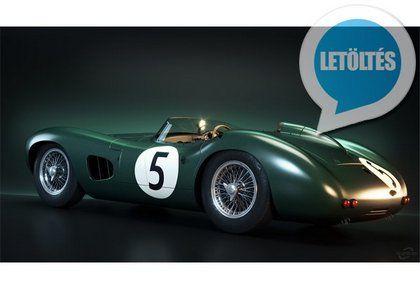 1959 Aston Martin DBR1 HD háttérképek  Full HD felbontású 1959 Aston Martin DBR1 háttérképek.  Ha kedveled a retro sportkocsikat és szeretnéd feldobni velük kedvenc számítógéped vagy kütyüd hátterét akkor ezt most megteheted azzal hogy letöltöd az olajzöld metálfényezésű 1959 Aston Martin DBR1 kocsiról készült jó minőségű háttérképeket amelyek formátuma: JPG és a méretük pedig 1920 x 1080 pixel.  Ez a képméret az összes Laptoppal Okostelóval Tablettel és PC-vel kompatibilis így nyugodtan…