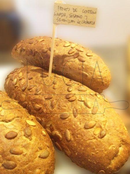 LUCIAcocina, pan de centeno, malta, linaza, sésamo y semillas de calabaza http://luciacocinabogota.blogspot.com/