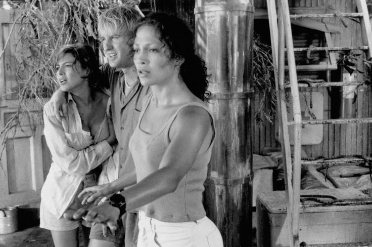 Jennifer Lopez, Kari Wuhrer and Owen Wilson in Anaconda (1997)