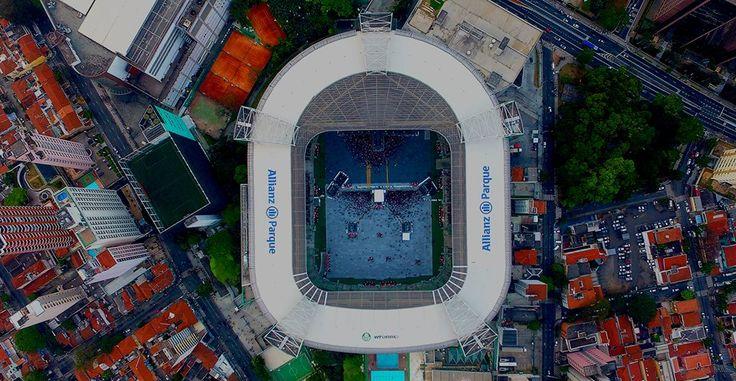 Allianz Parque - Dia de jogo