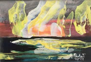 """Saatchi Art Artist Agata Padol; Painting, """"North Cape 9"""" #art"""