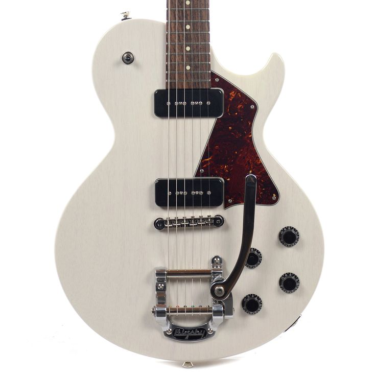 Collings 290 Vintage White w/Bigsby, Tortoise Pickguard & Lollar P-90s (Serial #151281)