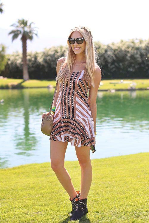 Coachella Street Style - Fashion at Coachella 2013 - Harpers BAZAAR