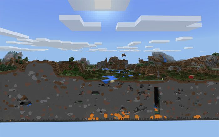 SkyBlock [Survival] Map for Minecraft PE   Minecraft PE Download