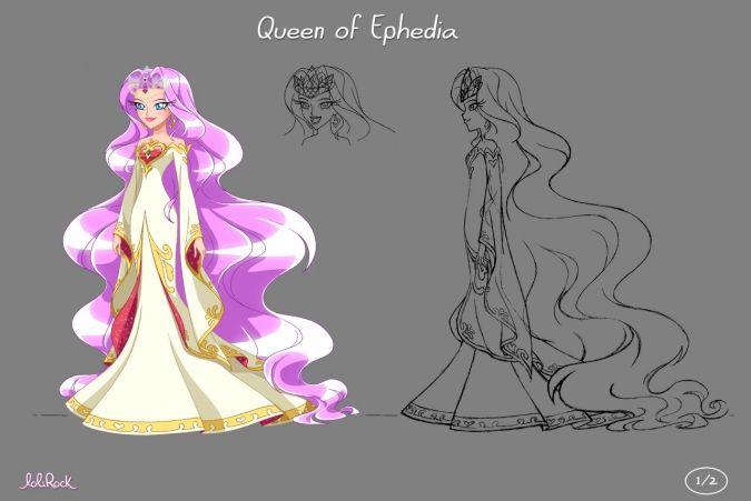 Лолирок: Родители Айрис - королева и король Эфедии ...