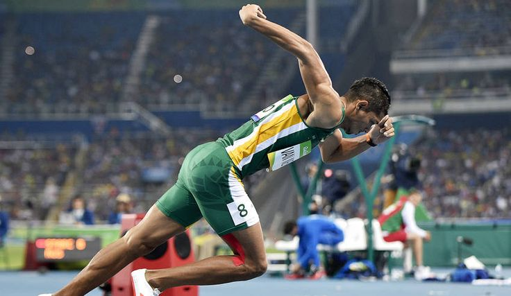wayde-van-neikerk broke the 400m record and then glorified God