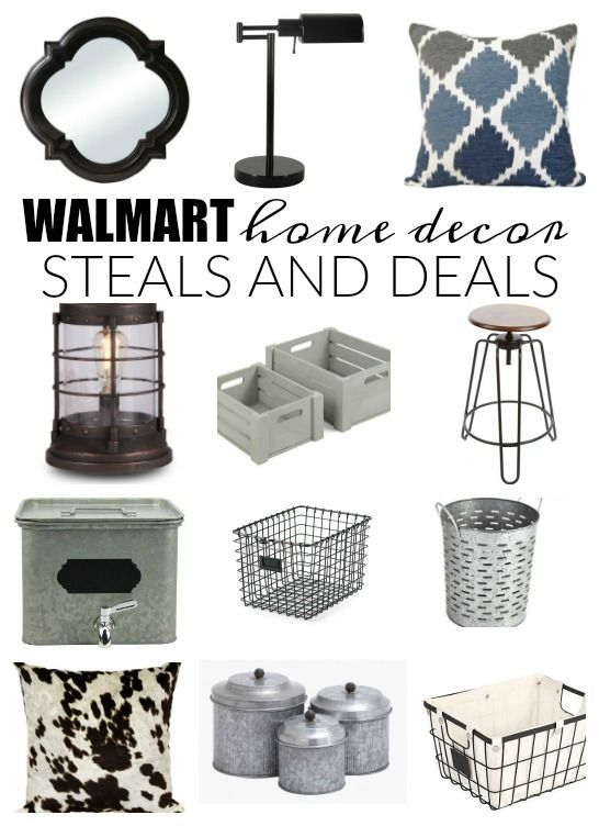 MUST SEE LIST!  Affordable steals and deals from none other than WALMART!!!  - www.littlehouseoffour.com