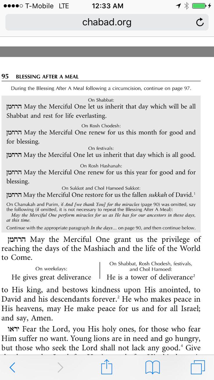 Brit Milah prayers