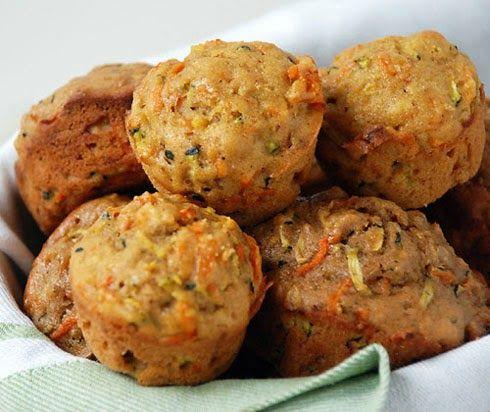 Daddy Cool!: Συνταγή για παιδιά που δε τρών λαχανικά:Muffins με κολοκυθάκια και…