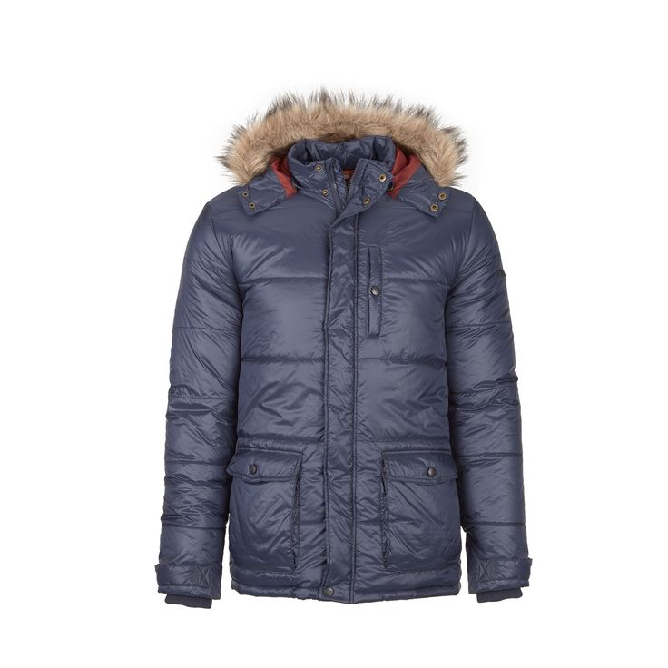 Urban jacket with water repellence, perfect for severe winter days out in the city.