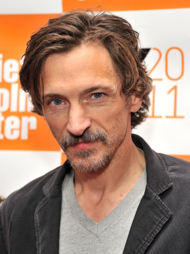 John Hawkes in Winter's Bone. He was terrifying as Teardrop.