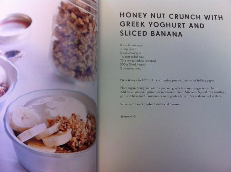 Homemade Muesli - Honey Nut Crunch with Greek Yoghurt and Banana