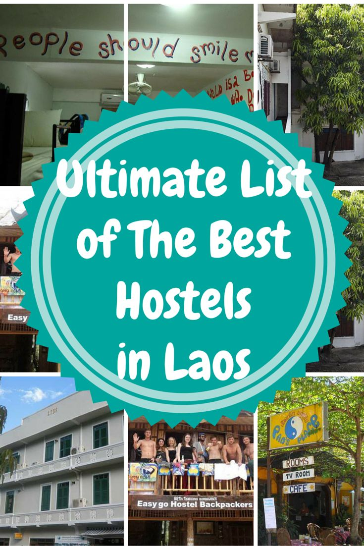 In this article you will find the; best hostels in Laos; best hostels in Luang Prabang; best hostels in Vang Vieng; best hostels in Vientiane. Searching for the perfect hostel can be a bit overwhelming, especially when there are so many to choose from. Below is the ultimate list of the best hostels in Laos, including prices, reviews, and locations, all in one place!