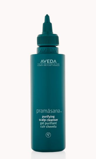 Pramasana Purifying Scalp Cleanser helps balance and cleanse your scalp before you shampoo.