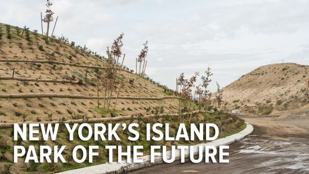Parks aren't always built just so we can enjoy the trees. On Governor's Island in New York City, a truly unique public space will bring nature back to a former military base–and it's engineered to withstand the catastrophic storms that climate change will bring. It's called The Hills, and in this documentary, we talk to one of its principle designers. - Earth and Environmental Science, Sustainability, Climate Science