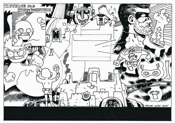 Jakub Kijuc - komiks, ilustracja: Komiks