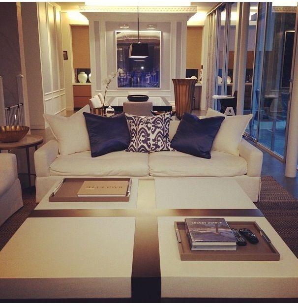 Roxy jacenko interior design. black and white classical living room
