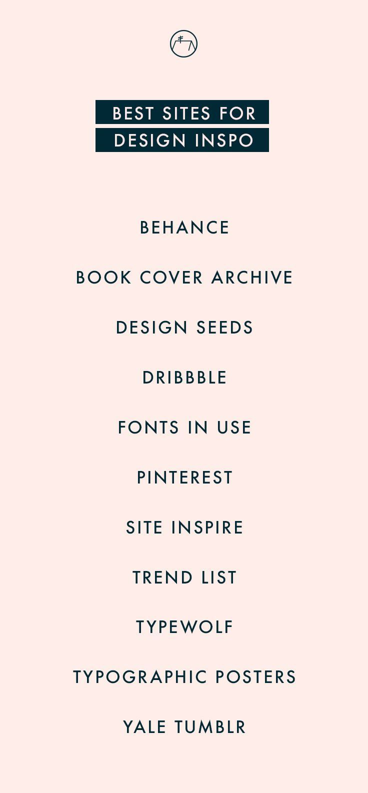 My go-to sites for design inspiration. Check em out or click through to read full post!