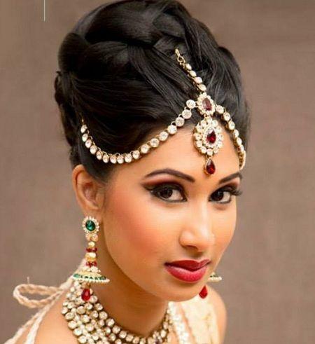 De 18 bästa Bridal Hairstyles-bilderna på Pinterest