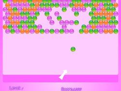 Online Pink Bubble Shooter