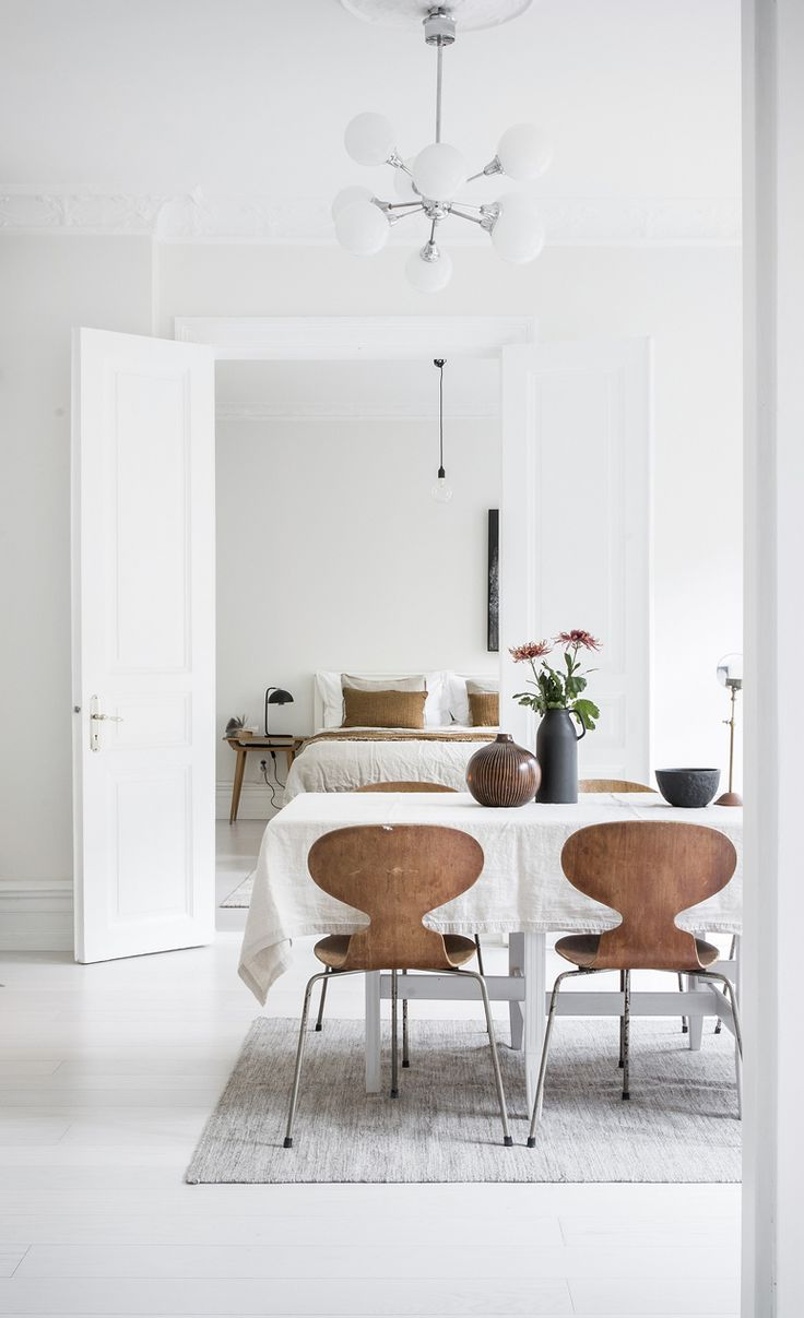 Bright home with warm details - via Coco Lapine Design blog