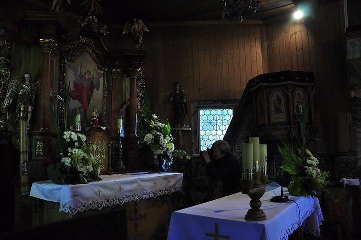 Kamieńczyk, wnętrze kościoła p.w. Św. Michała Archanioła