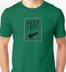 """""""Keep Left"""" für die Liebhaber von England, Australien und Neuseeland."""