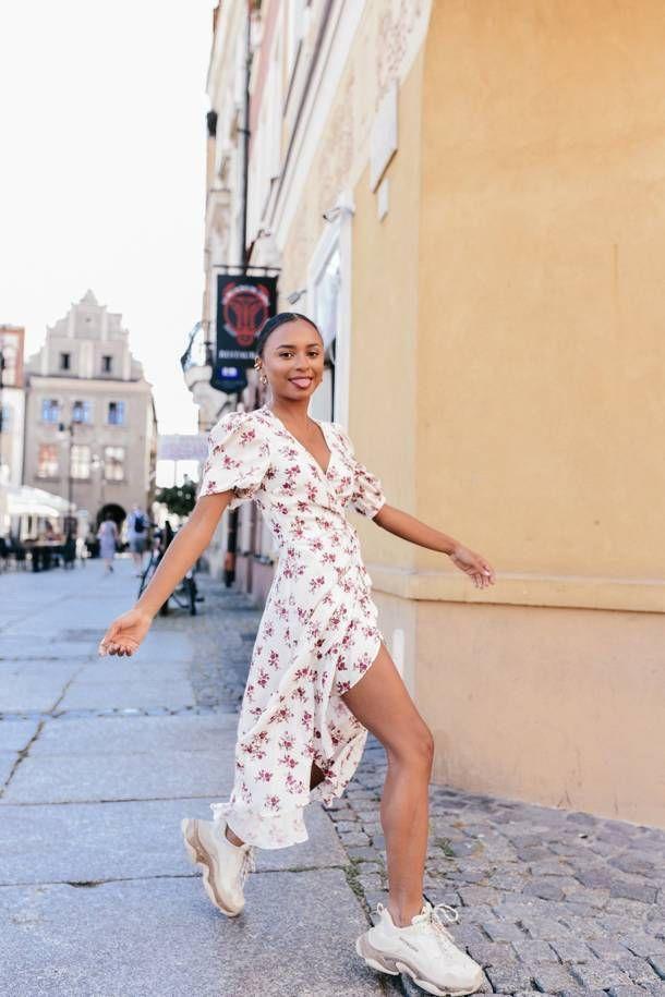 Sukienka Milano Dusty Rose Laurella Short Sleeve Dresses Fashion Dresses With Sleeves