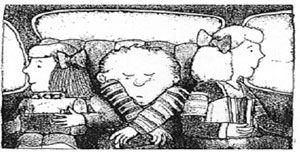 La terrible, horrible, affreuse journée d'Alexandre - pour enseigner passé composé et imparfait