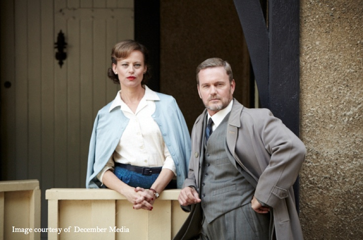 The Dr Blake Mysteries filmed in Ballarat, Victoria, Australia starring Craig McLachlan, Nadine Garner, Joel Tobeck, Rick Donald and Cate Wolfe.      For a preview of the series visit http://www.abc.net.au/tv/doctorblake/     http://visitballarat.com.au