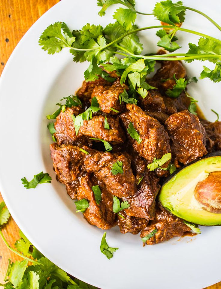 Add fresh herbs, chillies and spices to enhance the flavor and appeal of Carne Guisada