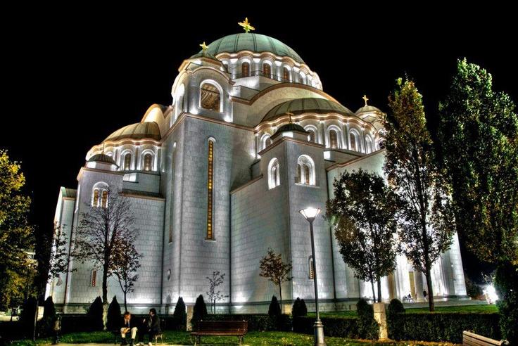 Cathedral of Saint Sava or Saint Sava Temple SerbiaBelgrade Serbia, Orthodox Church, Sava Church, Sava Temples, Myserbian Heritage, Serbian Orthodox, Hram Svetog, Orthodox Temples, Saint Sava