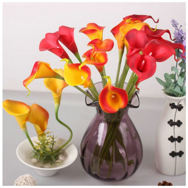 Cheap gift apron, Buy Quality gift directly from China decorative gift items Suppliers:                                              10PCs Happy Gifts Plastic Wedding Decoration Mini Artificial Calla Lily Wed
