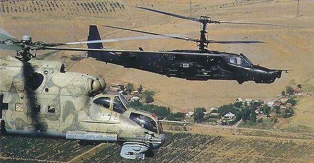 Ka-50 Black Shark (Hokum) Attack Helicopter - Airforce Technology