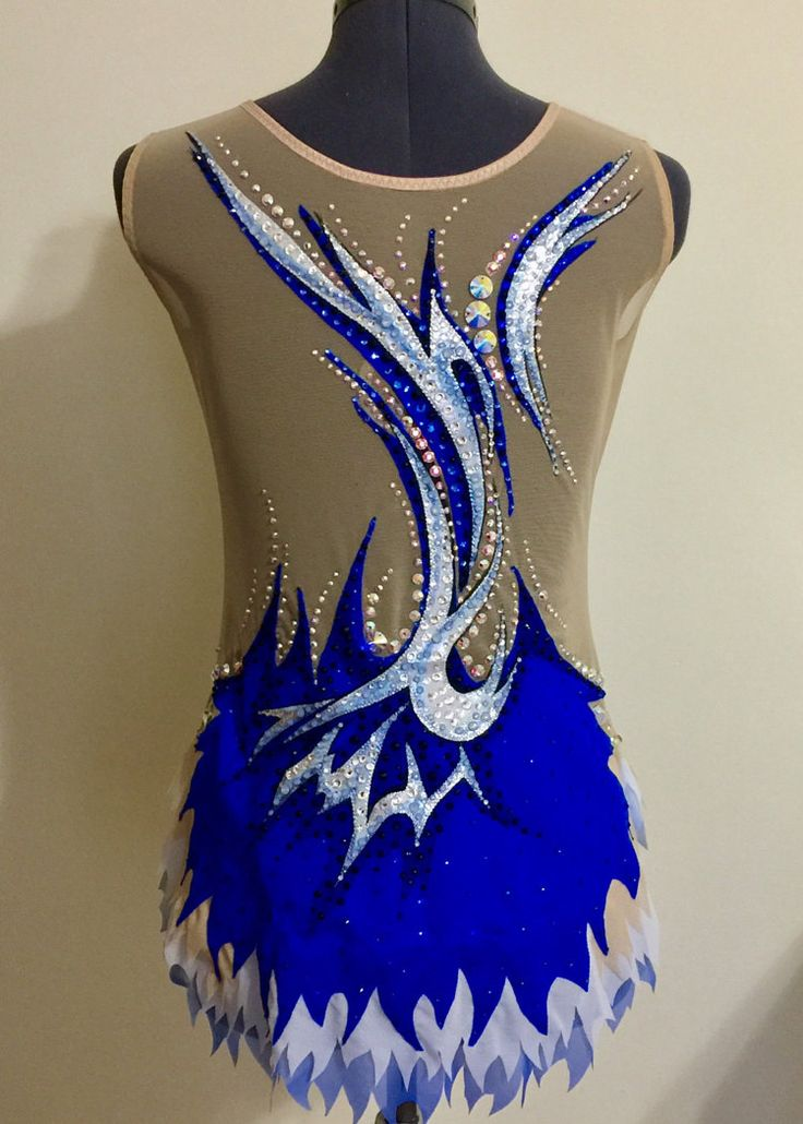 Competition Rhythmic Gymnastics Leotard SOLD от Savalia на Etsy