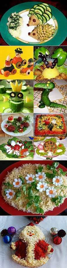 Украшение блюд - блог на www.gdepapa.ru