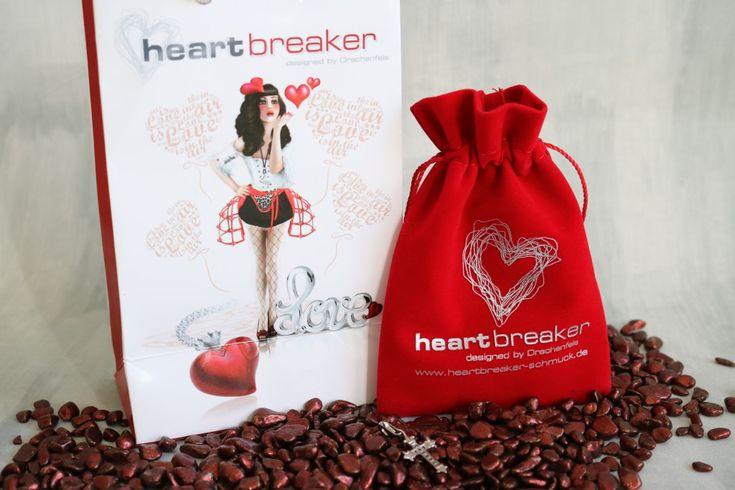 heartbreaker Schmuck der mein Herz bewegt! Kreuz Charm Anhänger #heartbreaker #Schmuck