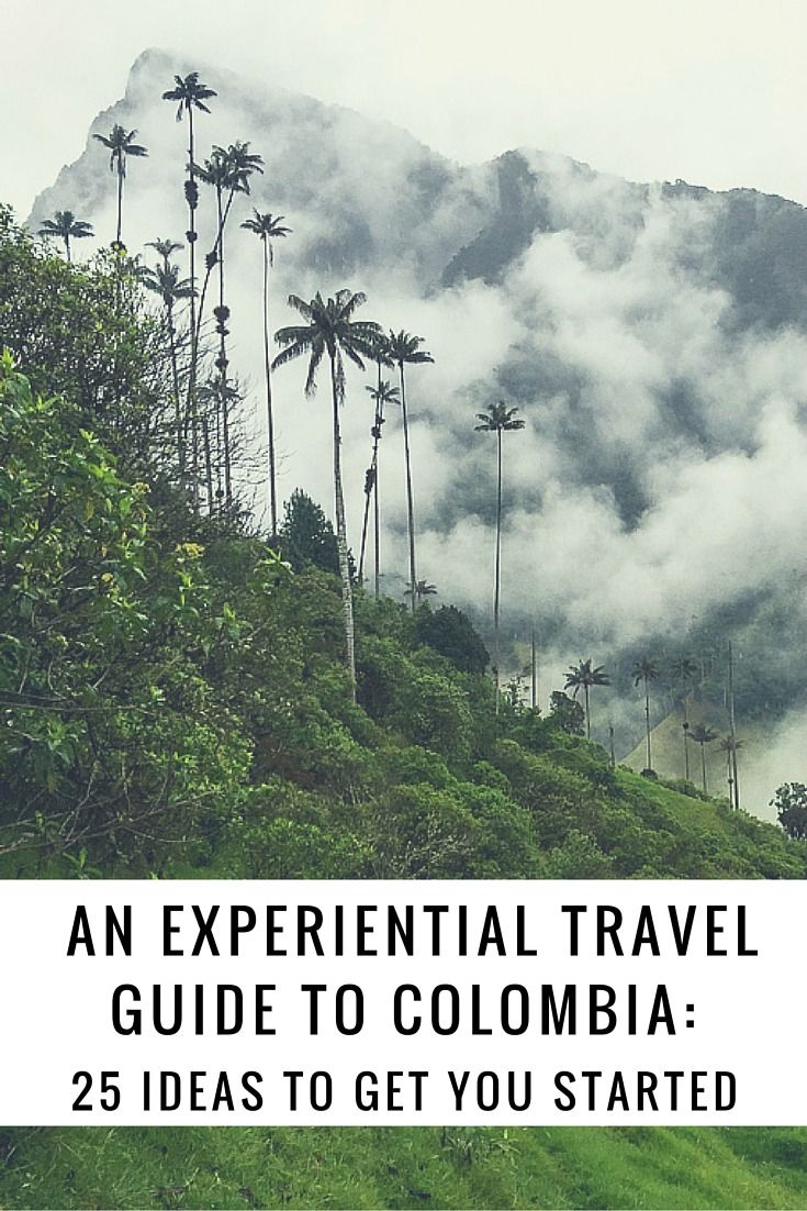 Planning travel to Colombia can be challenging because of the country's diversity. Here are 25 experiences ideas for your Colombia travel itinerary. | Uncornered Market