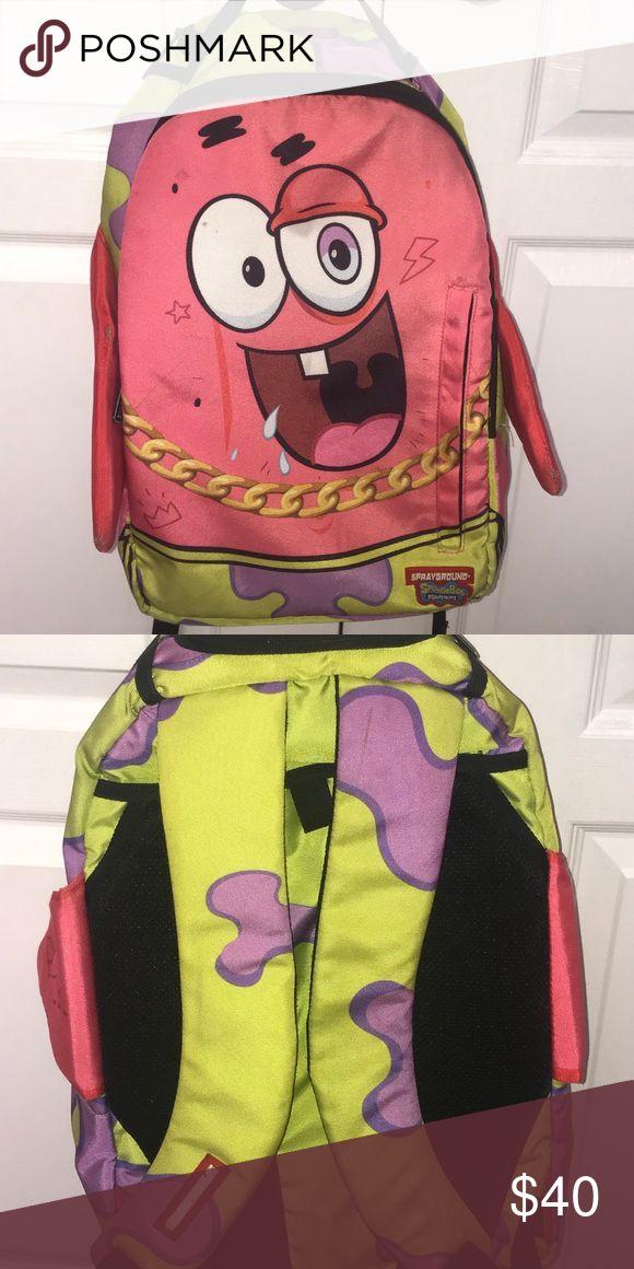 SPRAYGROUND Bookbag SPRAYGROUND Patric star book bag. Original price is 80.00$ SPRAYGROUND Bags Backpacks