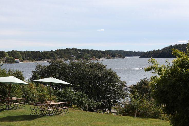 Här ser du utsikten från Dalarö i sydöstra Stockholms län. #dalarö #stockholm #natur