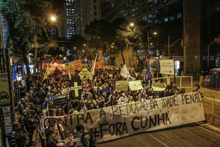 Manifestação contra a Redução da Maioridade Penal / Foto: Mídia Ninja