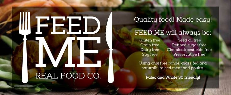 Feed Me - Real Food Co. | Sydney based pre-made meals - Paleo and Whole 30 friendly