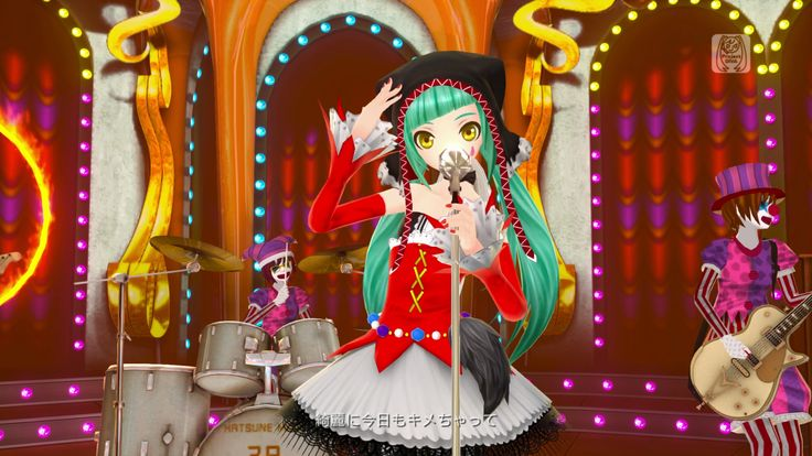 Hatsune Miku Project DIVA-F MV Full-HD 01 Cat Food | alukard999