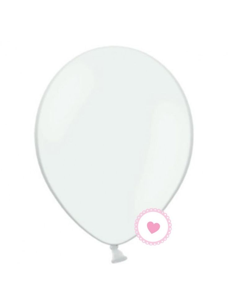 Conj. 10 Balões Latex Transparente